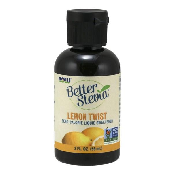 Lemon Twist Liquid Stevia 2 Oz by Now Foods