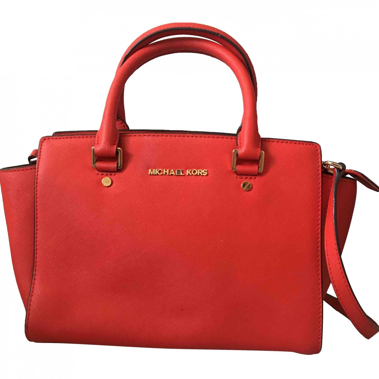 Michael Kors Selma Orange handbag for Women \N