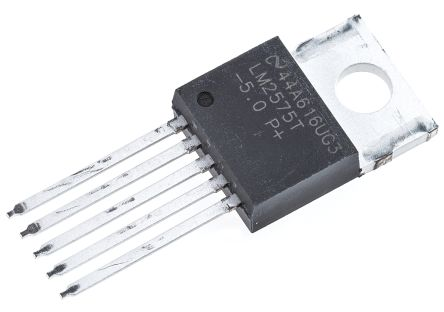 Texas Instruments , LM2575T-5.0/NOPB Step-Down Switching Regulator, 1-Channel 1A 5-Pin, TO-220