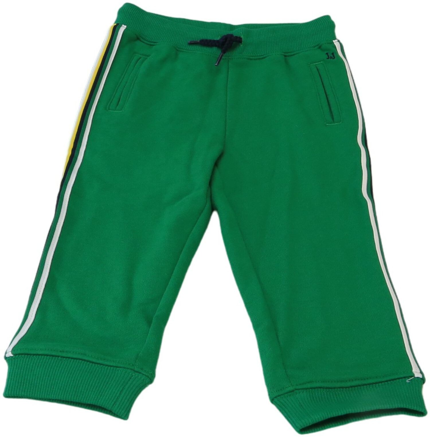 Janie And Jack Boy's Emerald Green Side Stripe Jogger Pants - 2T