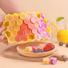 1pc Silicone Honeycomb Ice Mold