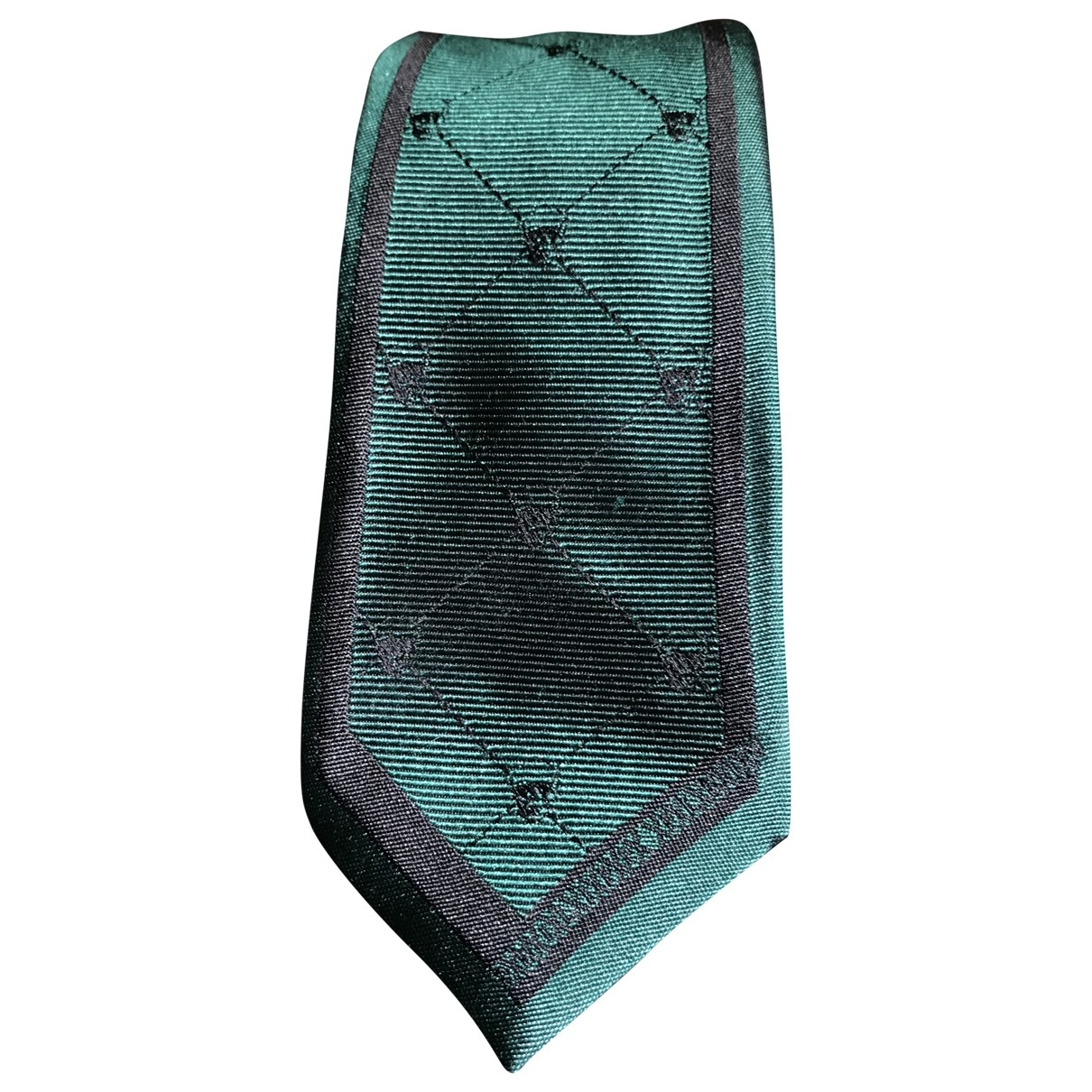 Philipp Plein \N Green Silk Ties for Men \N