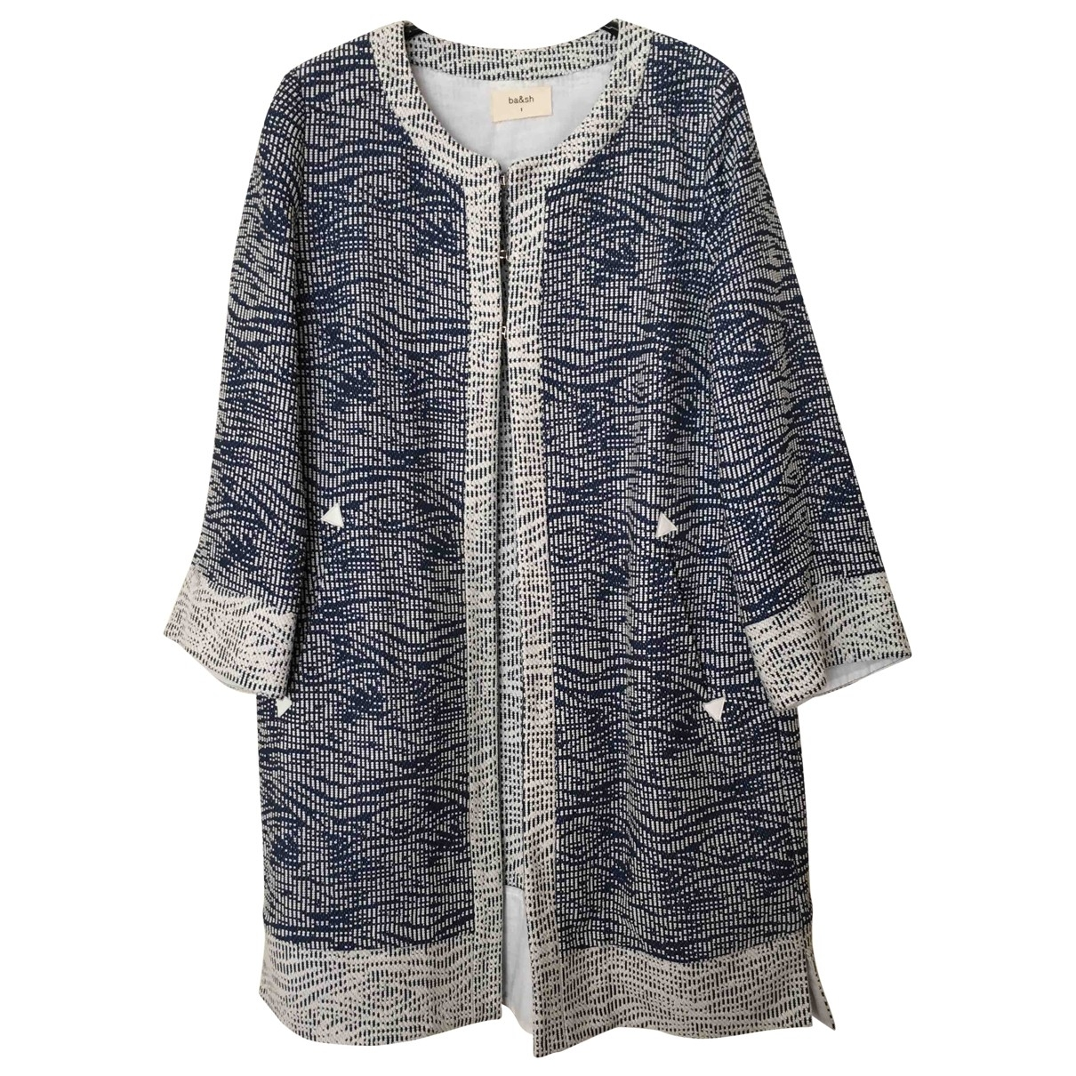 Ba&sh \N Blue Cotton jacket for Women 1 0-5