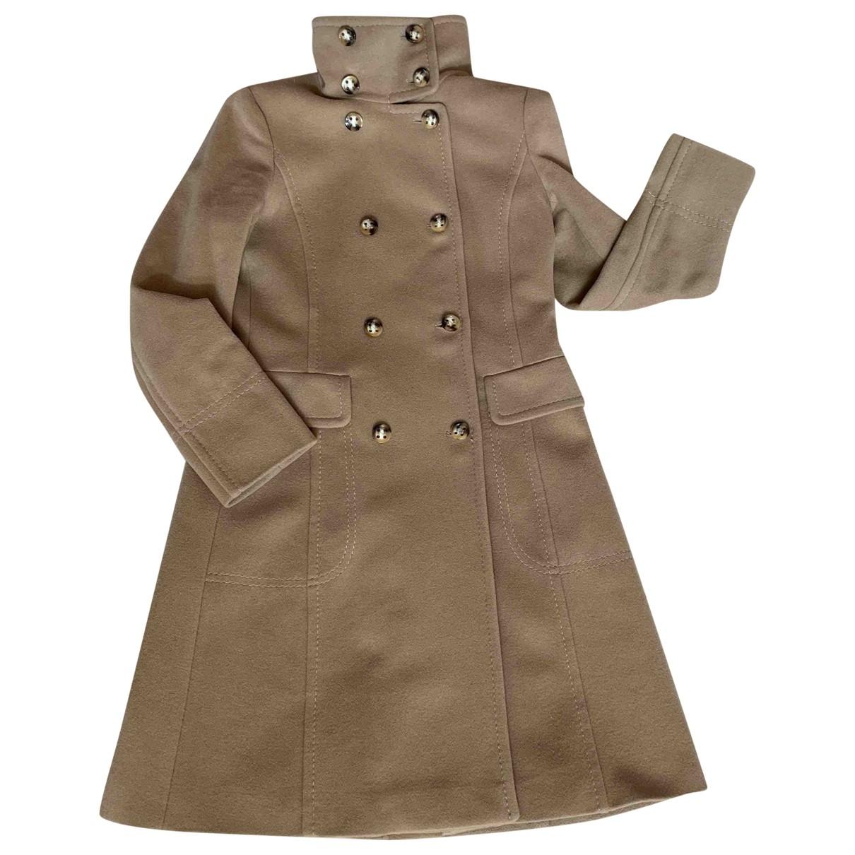 Max & Co \N Beige Wool coat for Women 40 IT