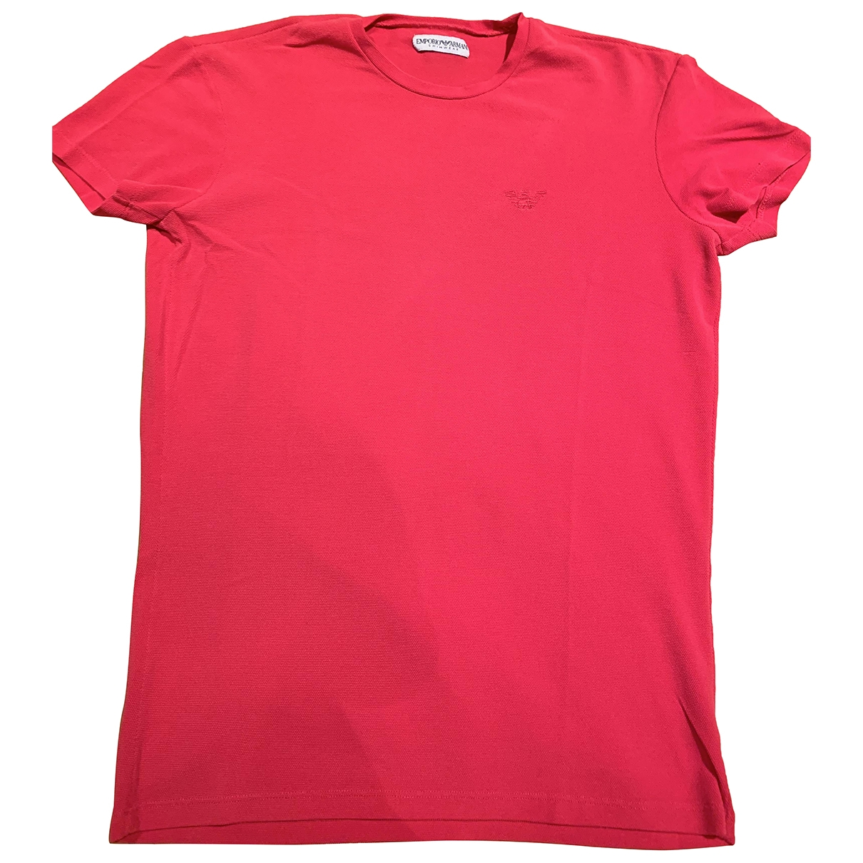 Emporio Armani \N Red T-shirts for Men L International