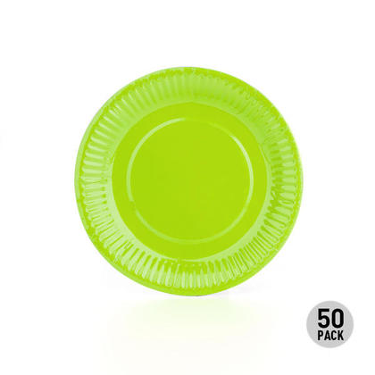 Disposable Paper Dessert Plate for Birthday Party Supplies, 7
