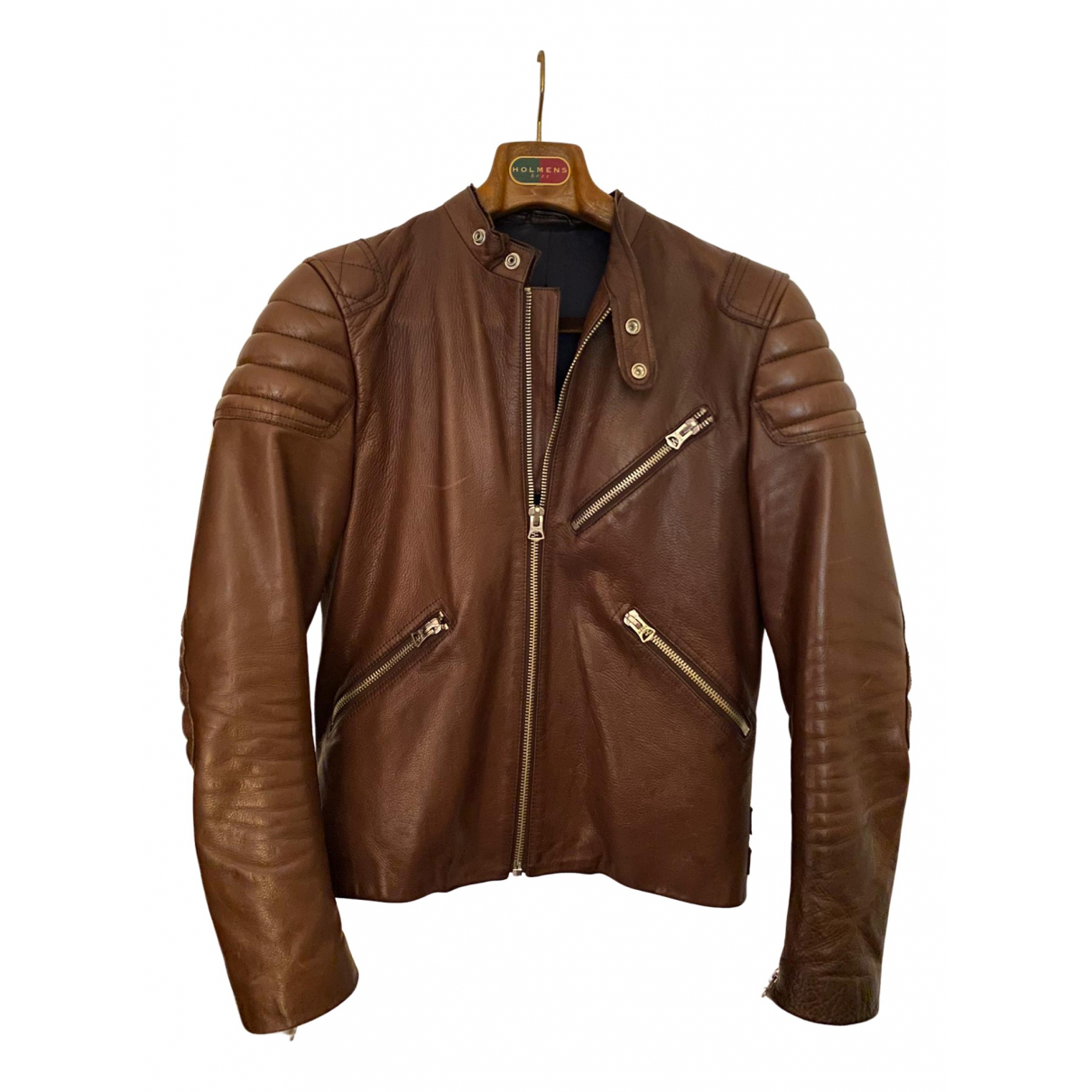 Acne Studios \N Brown Leather jacket  for Men 50 IT