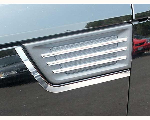 Quality Automotive Accessories 2-Piece Porthole Accent Trim Dodge Nitro 2008