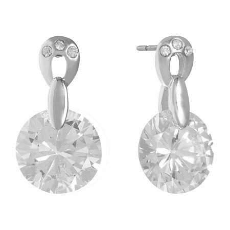 Monet Jewelry Drop Earrings, One Size , White
