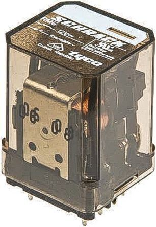 TE Connectivity , 230V ac Coil Non-Latching Relay DPDT, 25A Switching Current Flange Mount, 2 Pole