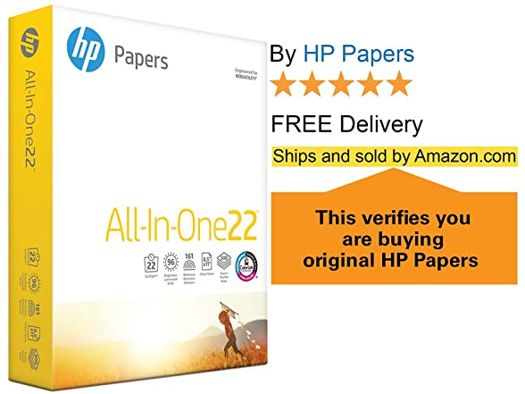 Hp Printer Paper 8.5 X 11 Inch, Letter
