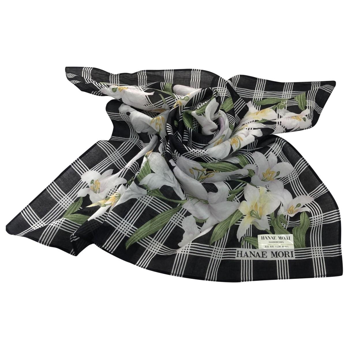 Hanae Mori \N Multicolour Cotton Silk handkerchief for Women \N