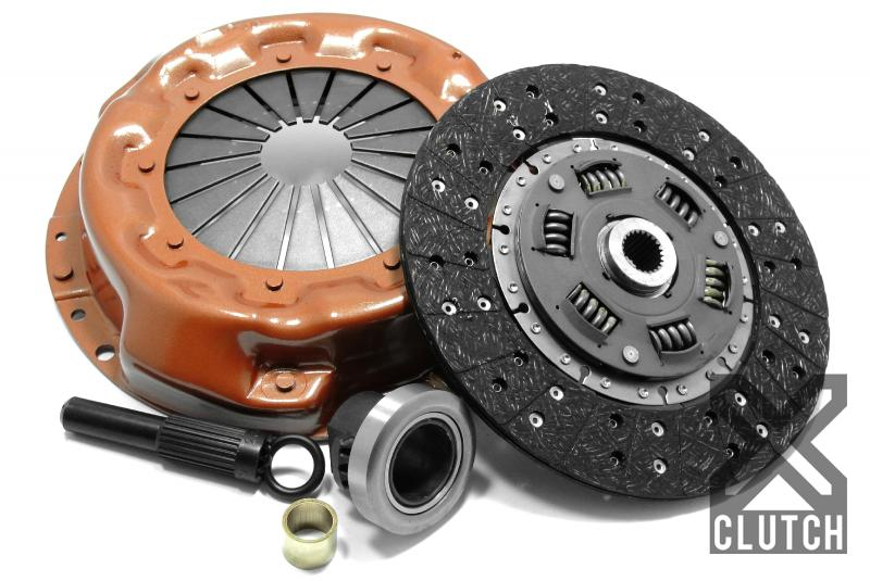 XClutch XKLR27003-1A Clutch Kit Stage 1 Single Solid Organic Clutch Disc Land Rover Discovery 1994-1995 3.9L V8