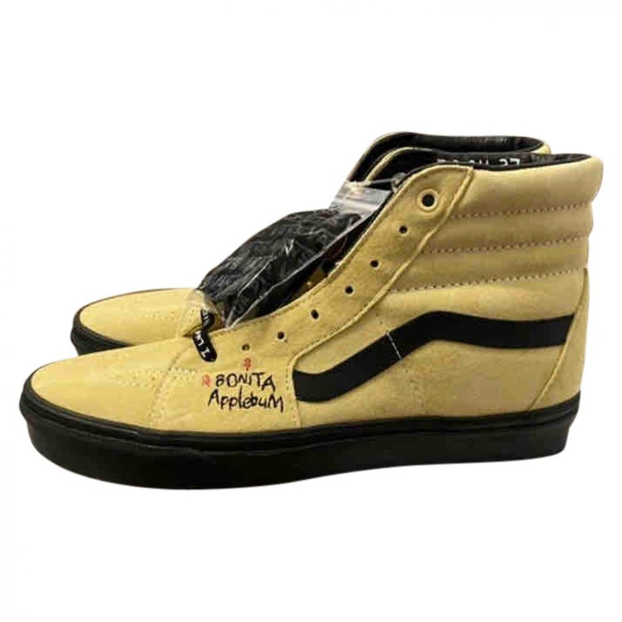 Vans \N Yellow Leather Trainers for Men 42.5 EU
