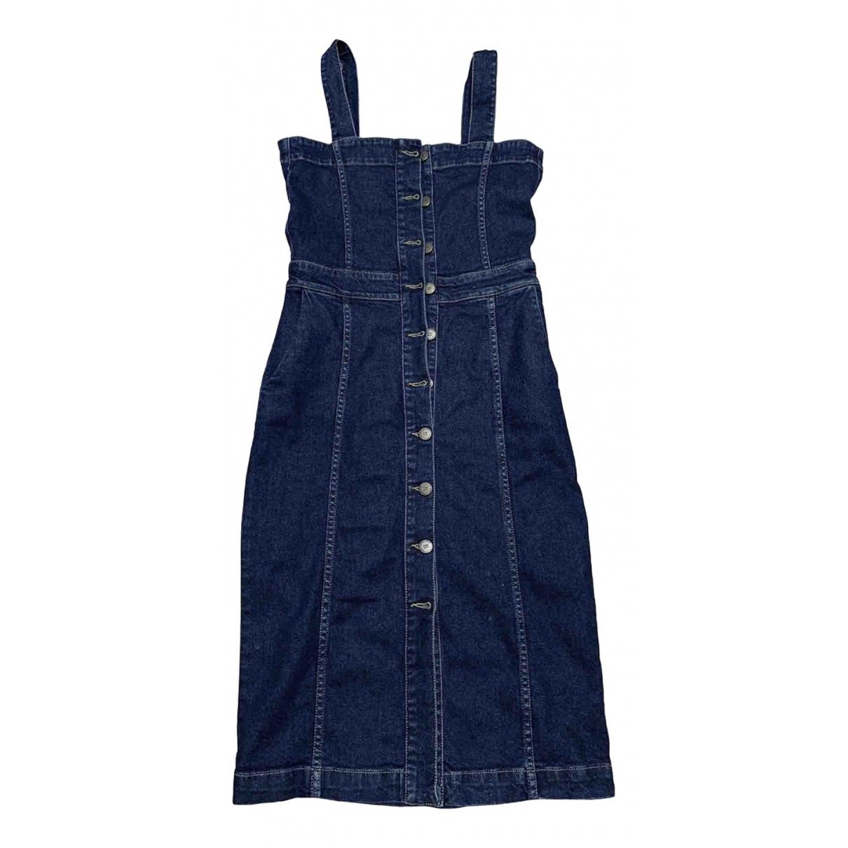 Maje \N Blue Denim - Jeans dress for Women 1 0-5
