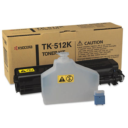 Kyocera-Mita TK512K originale Black Toner Cartridge