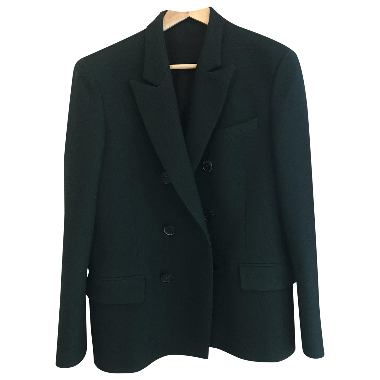 Balmain \N Green Wool jacket  for Men S International