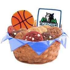 NBA Minnesota Timberwolves Cookie Basket