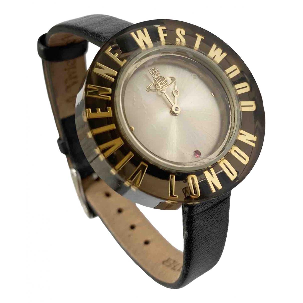 Vivienne Westwood \N Black Steel watch for Women \N