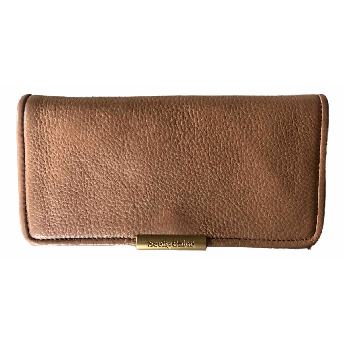 See By Chloé \N Pink Leather wallet for Women \N
