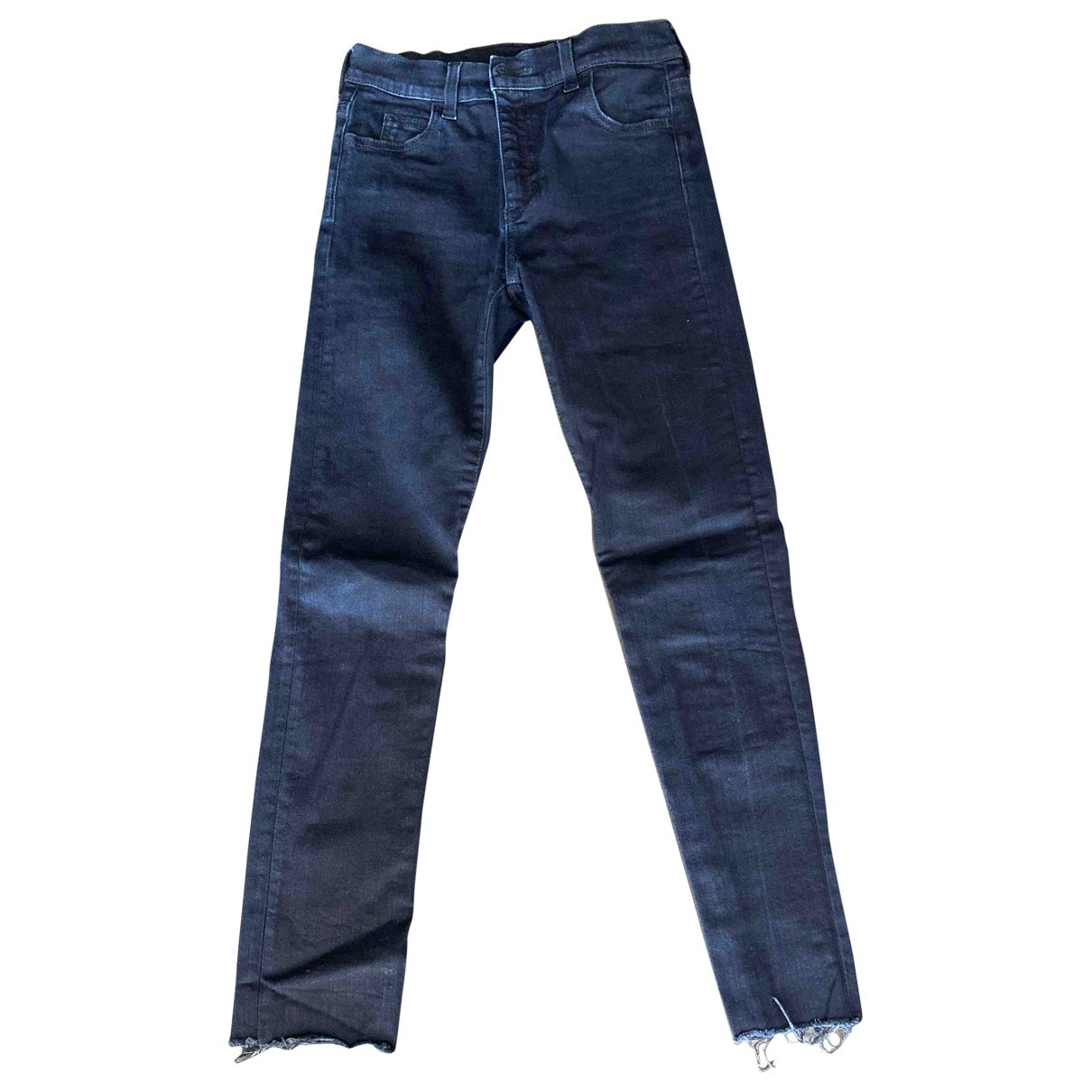 Gucci \N Blue Cotton - elasthane Jeans for Women 24 US