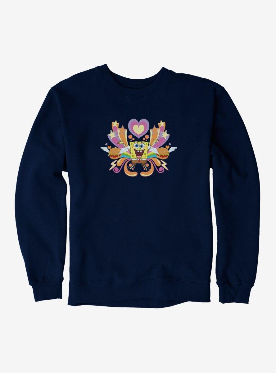 SpongeBob SquarePants Hearts, Stars And Burgers Sweatshirt