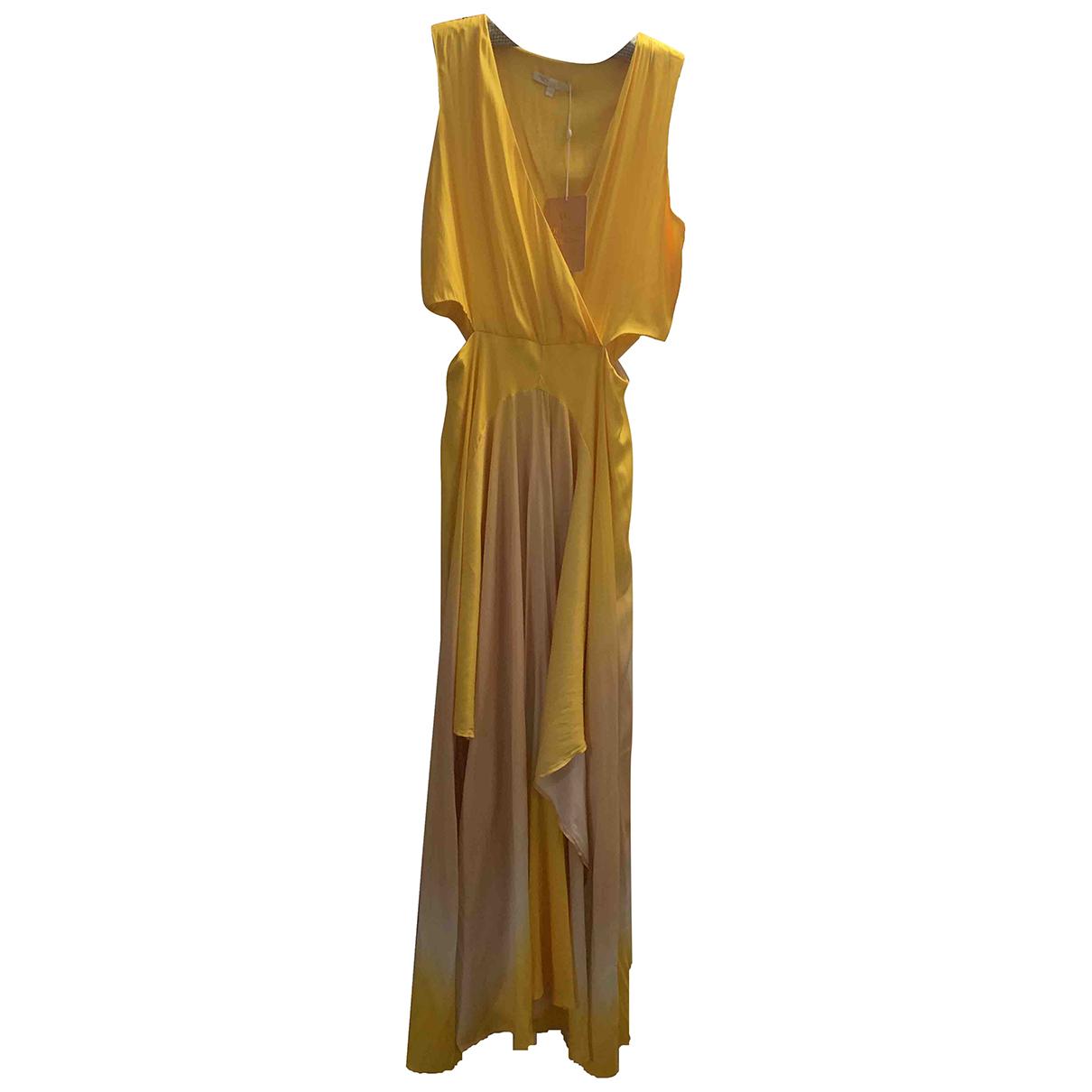 Maje Spring Summer 2019 Yellow dress for Women 2 0-5