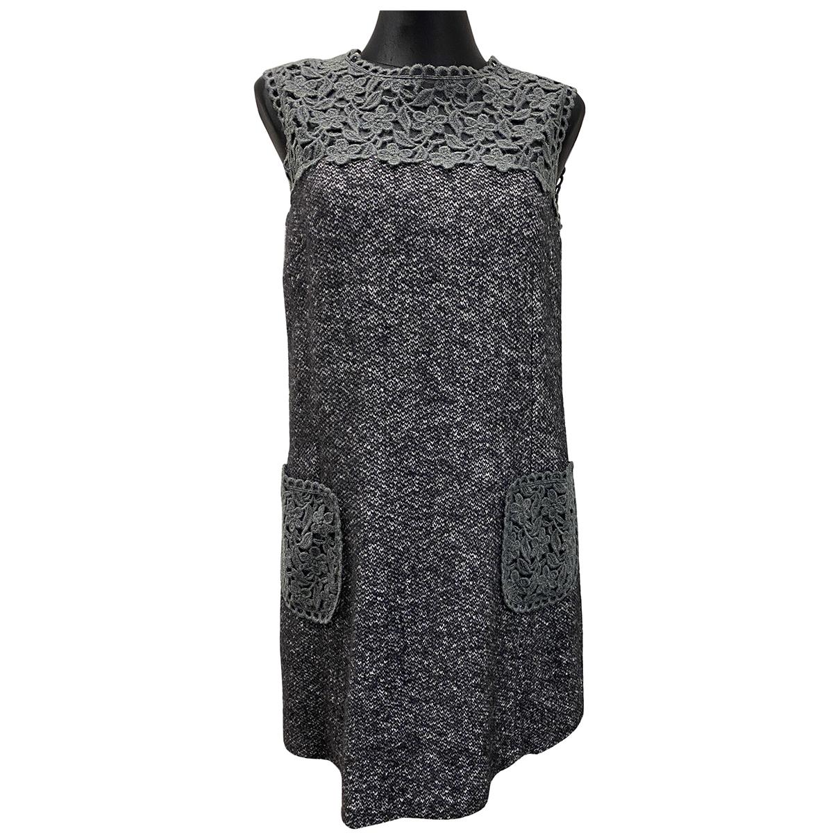 Dolce & Gabbana \N Grey Wool dress for Women 42 IT
