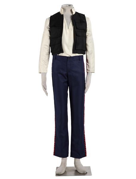Milanoo Star Wars Han Solo Halloween Cosplay Costume Halloween