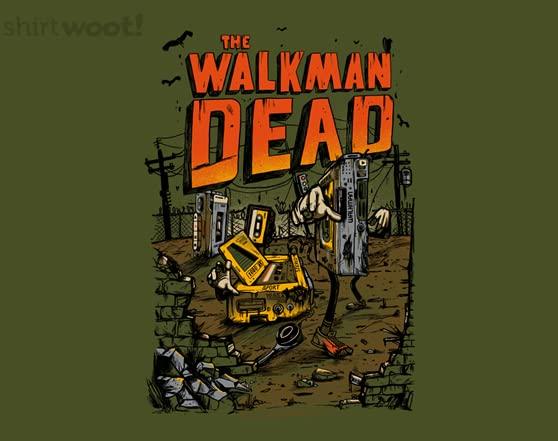 The Walkmen Dead T Shirt