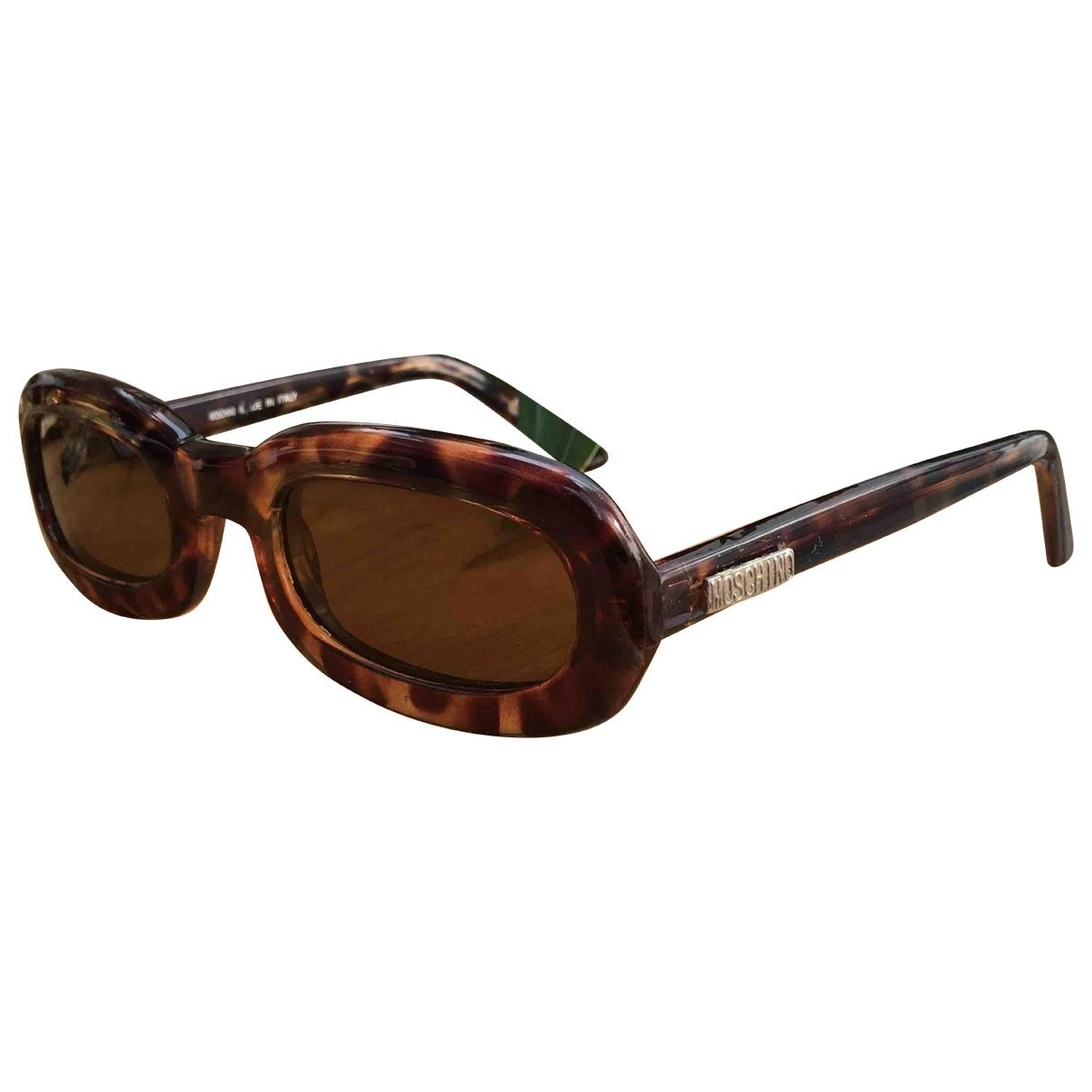 Moschino \N Brown Sunglasses for Women \N