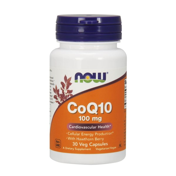 CoQ10 with Hawthorn Berry Vegetarian 30 Vcaps by Now Foods