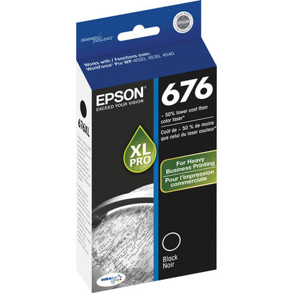 Epson T676XL120 Original Black Ink Cartridge
