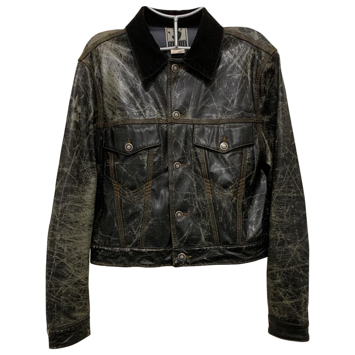 Jean Paul Gaultier \N Leather jacket for Women L International