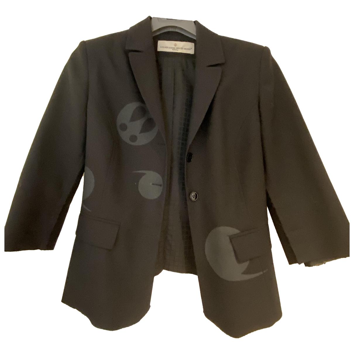 Golden Goose \N Black Wool jacket for Women M International