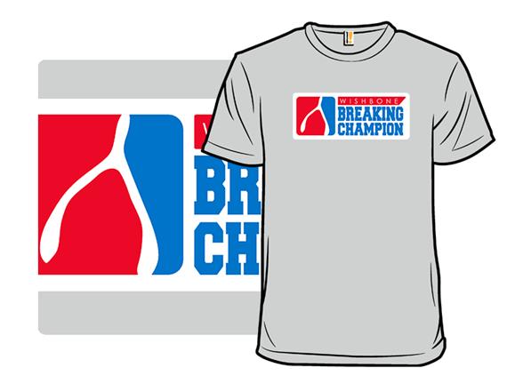 Wishbone Champion T Shirt