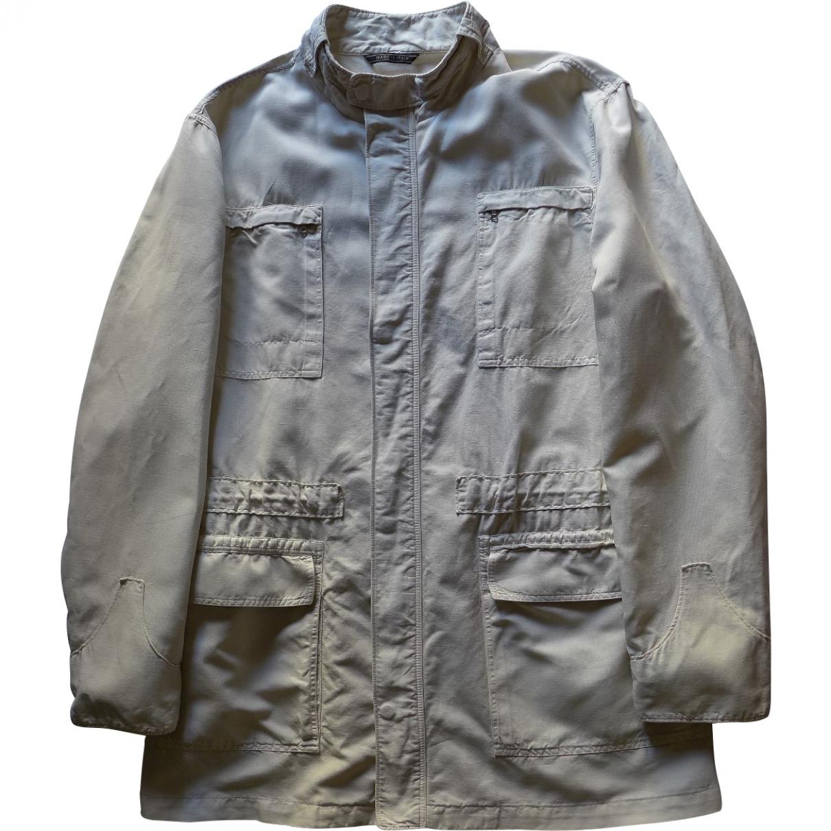 Lanvin \N Beige Cotton jacket  for Men 52 FR