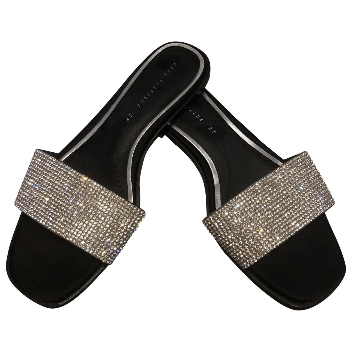 Zara \N Silver Sandals for Women 37 EU