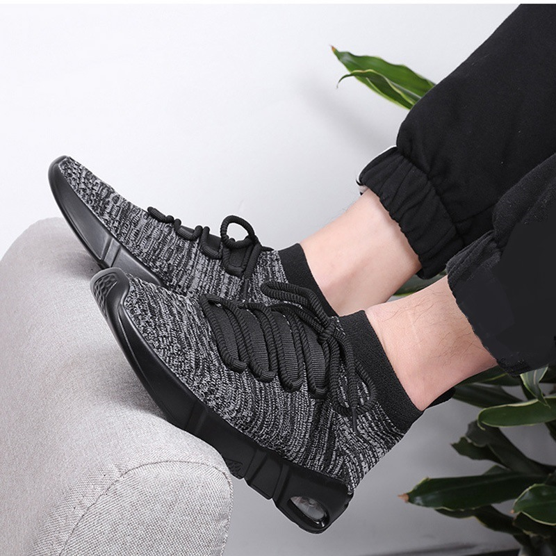Ericdress Mesh High-Cut Lace-Up Men's Trainers