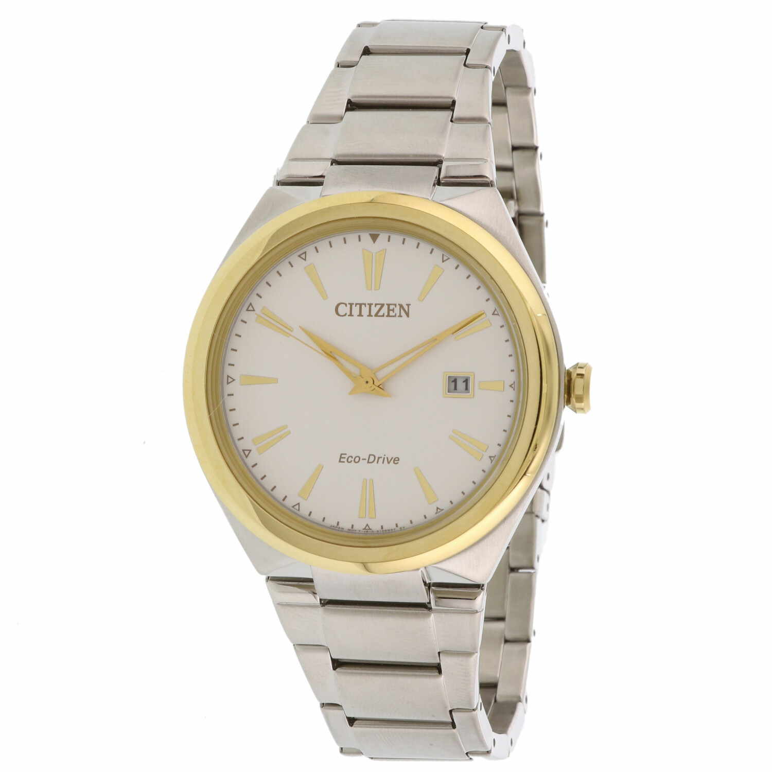 Citizen Men's Eco-Drive AW1374-51B Silver Stainless-Steel Dress Watch