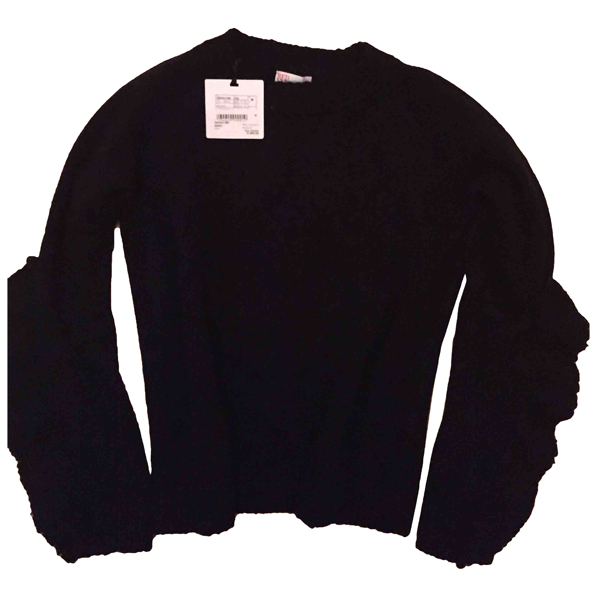 Red Valentino Garavani \N Black Cotton Knitwear for Women M International
