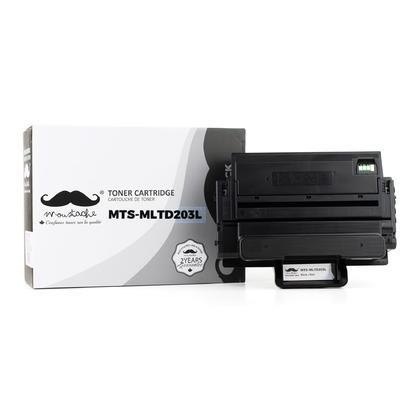 Samsung MLT-D203L cartouche de toner compatible noire haute capacité - Moustache®