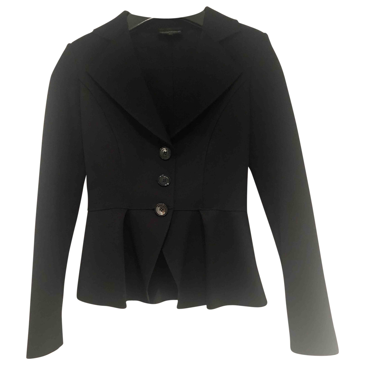 Emporio Armani \N Black jacket for Women 38 IT