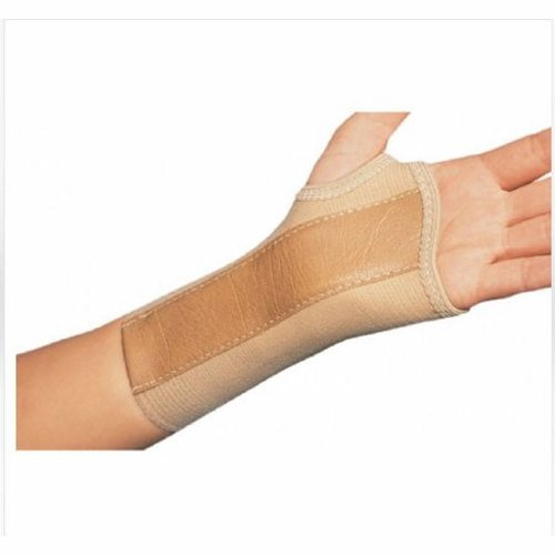 Wrist Splint PROCARE Cotton / Elastic Left Hand Beige X-Large - 1 Each by DJO