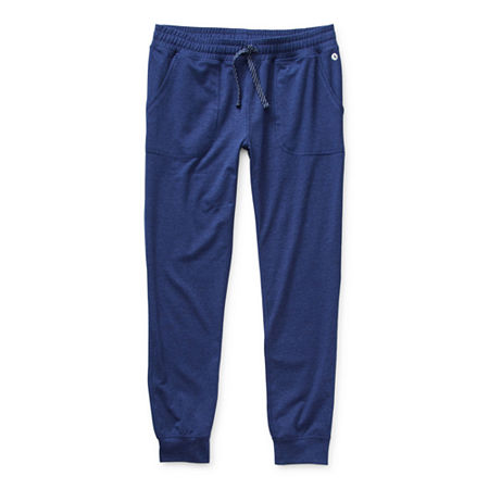 Xersion Little & Big Girls Tapered Jogger Pant, X-small (6-6x) , Blue