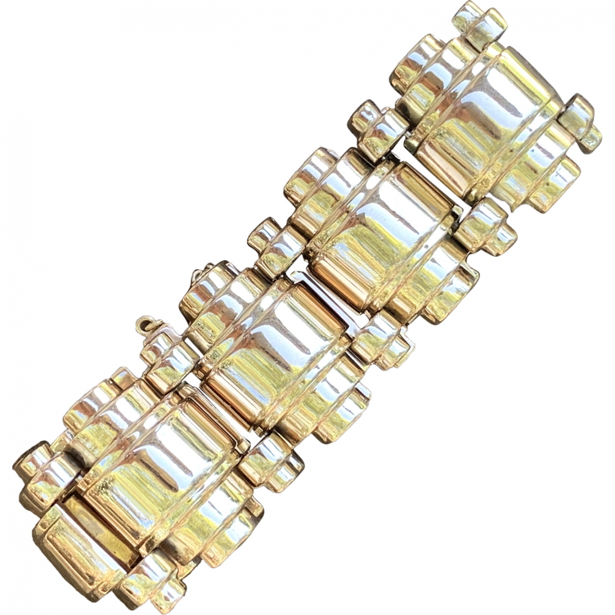 Non Signé / Unsigned \N Yellow Yellow gold bracelet for Women \N