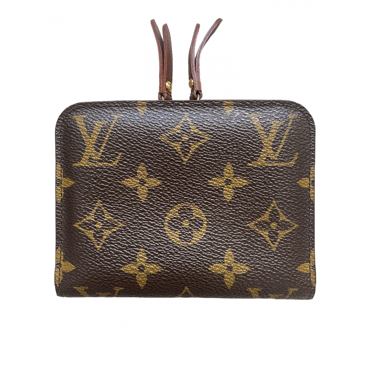 Louis Vuitton Insolite Brown Cloth wallet for Women \N