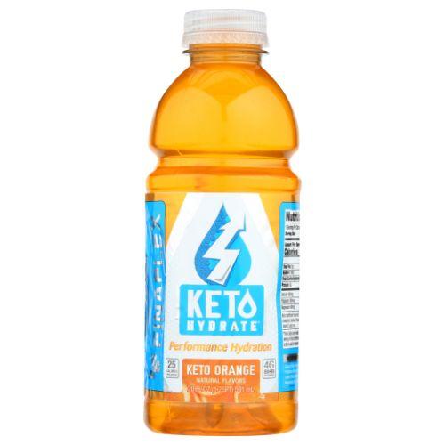 Keto Hydrate Orange 20 Oz by Finaflex