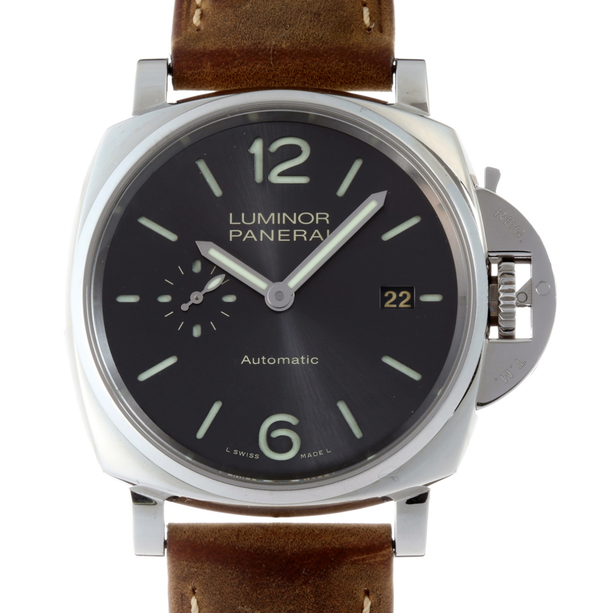 Panerai Luminor  Silver Steel watch for Men \N