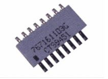 CTS 767 Series 330Ω ±2% SMT Resistor Network, 2.3W total (43)
